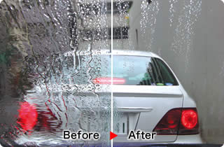 Car water repellent products